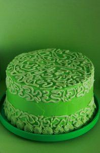 Pistachio Watergate Cake