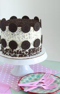 Oreo Polka Dot Cake
