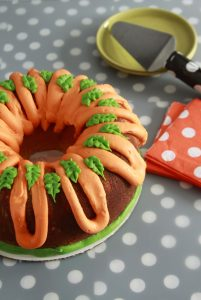 Halloween Cookie Bundt Cake