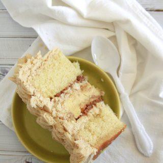 Bread Pudding Layer Cake