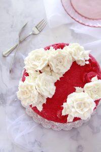 Borscht Belt Pink Slipper Cake