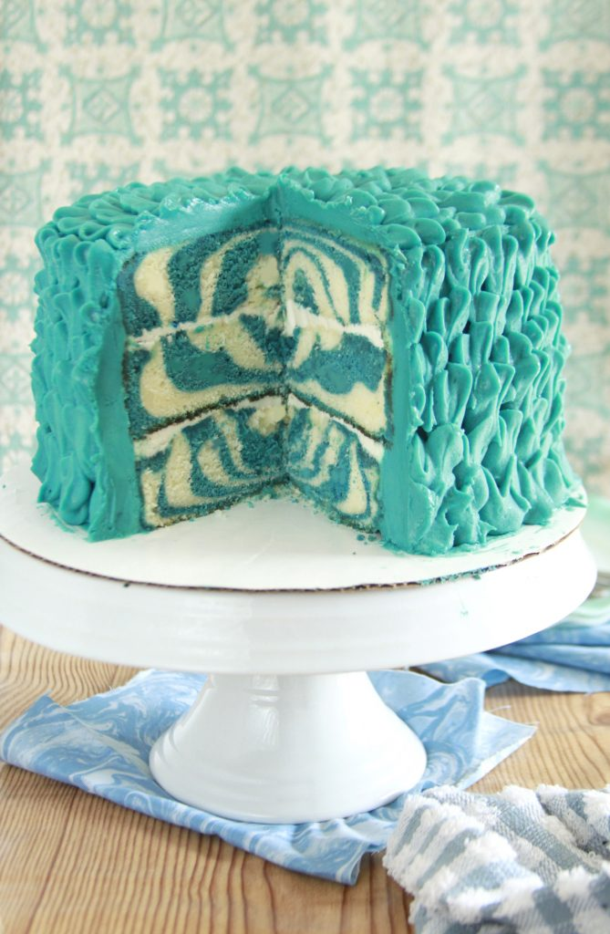 Marble Blue Cheese Layer Cake Layer Cake Parade