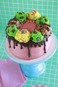 Strawberry Sundae Cake