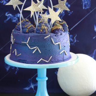 Constellation Milky Way Cake