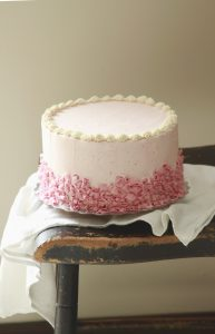Browned Butter Strawberry Cake