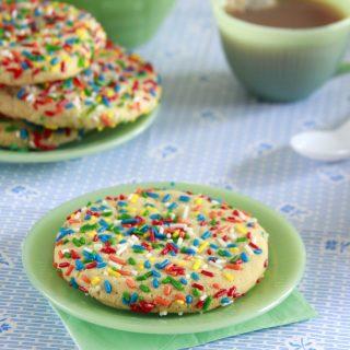 Jumbo Sprinkle Cookies