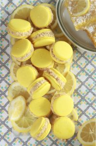Lemon Bar Macarons