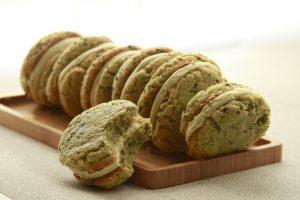 Matcha Black Sesame Cookies