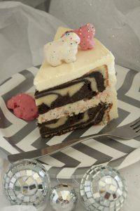 Party Animal Zebra Cake