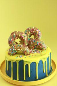 Yellow Doughnut Cake