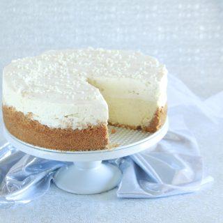 Quadruple Vanilla Bean Cheesecake