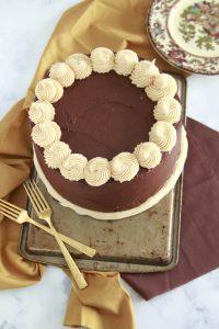 Supreme Chocolate Peanut Butter Cheesecake