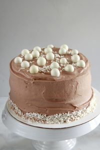 Brooklyn Egg Cream Cake