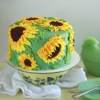 Sun Butter Sunflower Cake