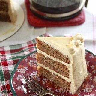 Vermont Coffee Maple Cake